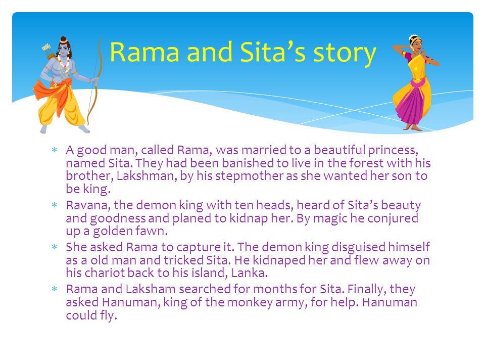 Rama and Sita's story