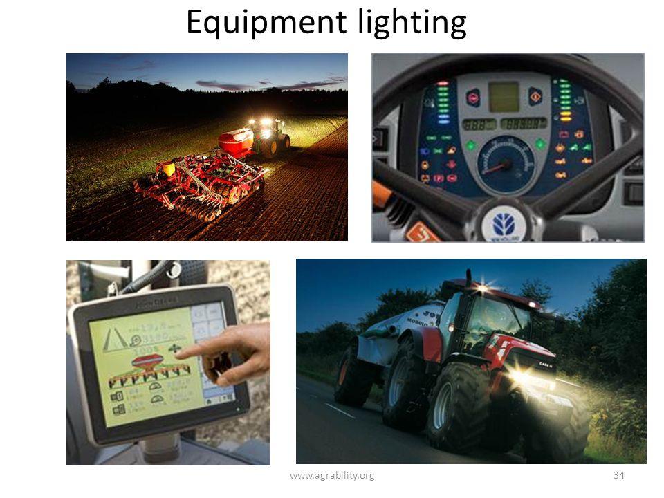 Equipment lighting www.agrability.org