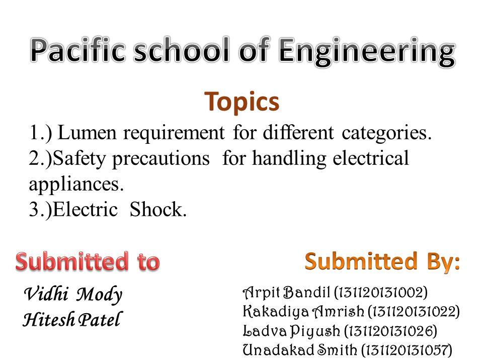 Pacific school of Engineering