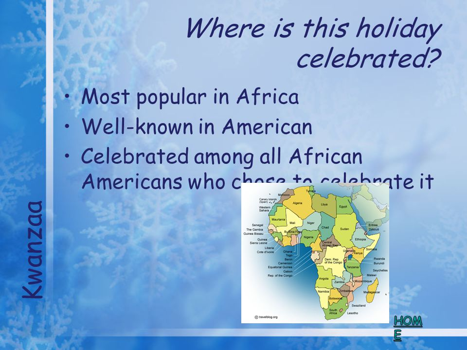 Where is this holiday celebrated