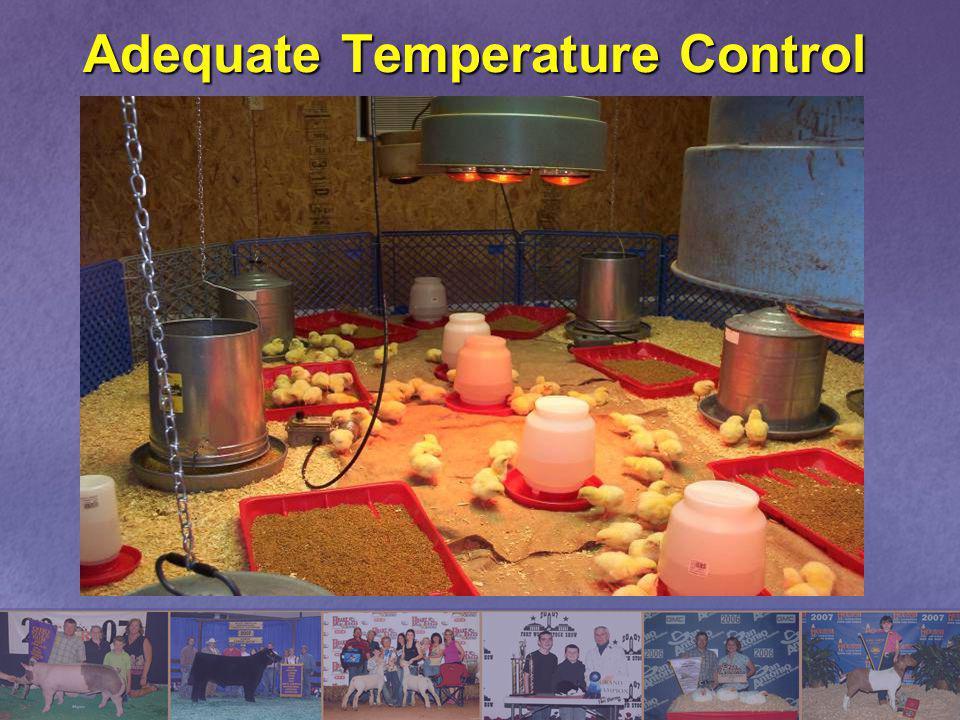 Adequate Temperature Control