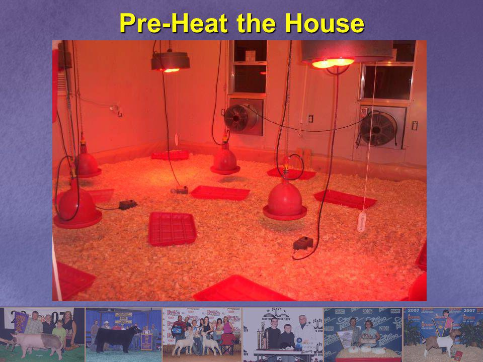 Pre-Heat the House