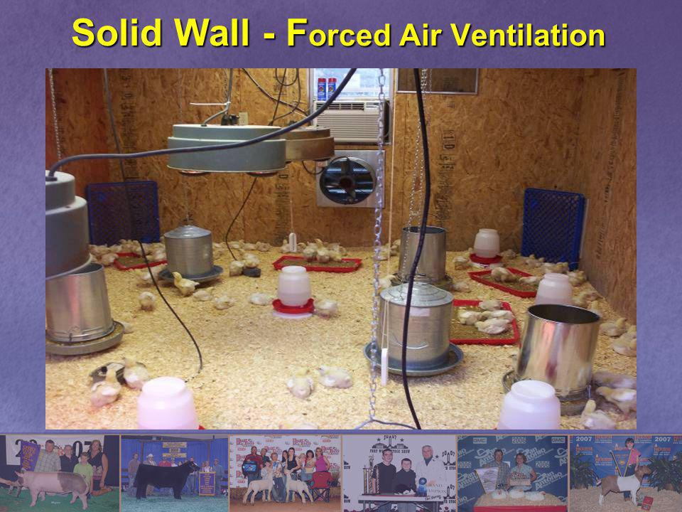 Solid Wall - Forced Air Ventilation