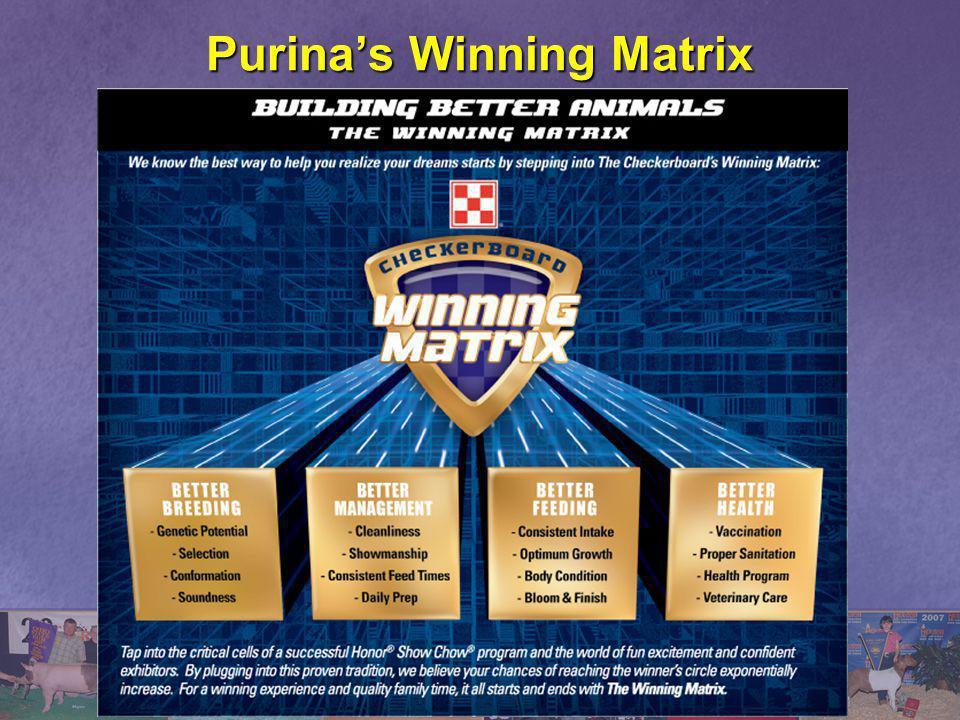 Purina's Winning Matrix