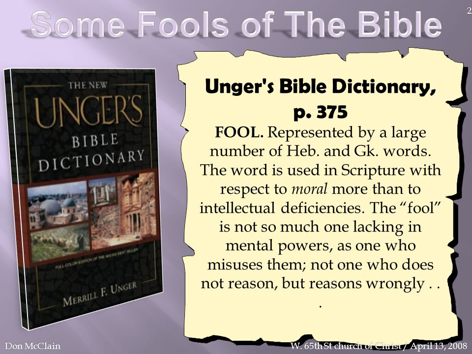 Unger s Bible Dictionary, p. 375