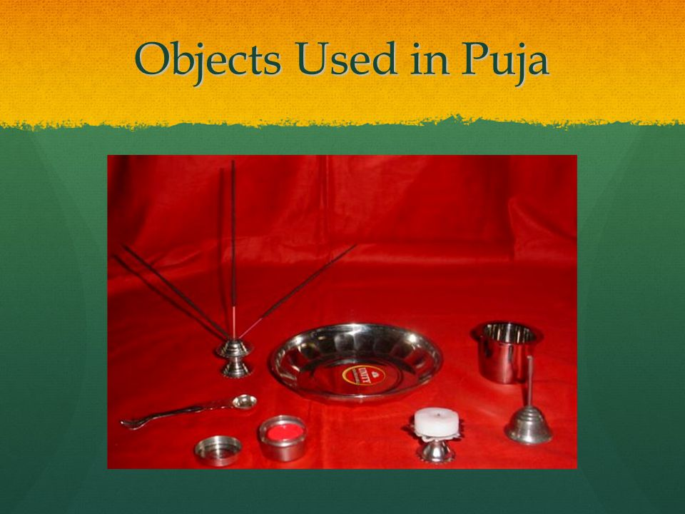 Objects Used in Puja