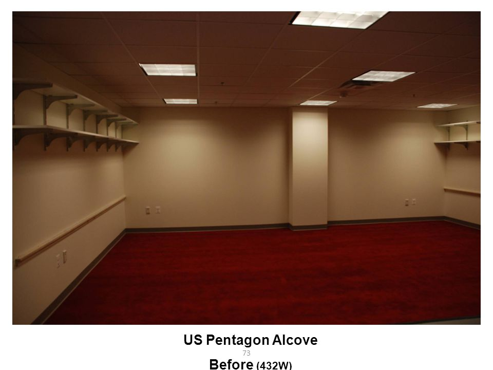 US Pentagon Alcove Before (432W)