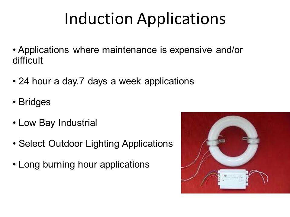 Induction Applications