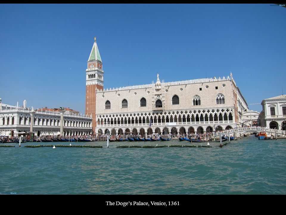 The Doge's Palace, Venice, 1361