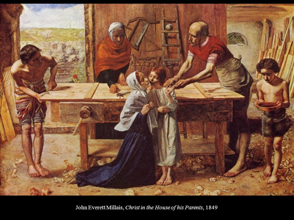 John Everett Millais, Christ in the House of his Parents, 1849
