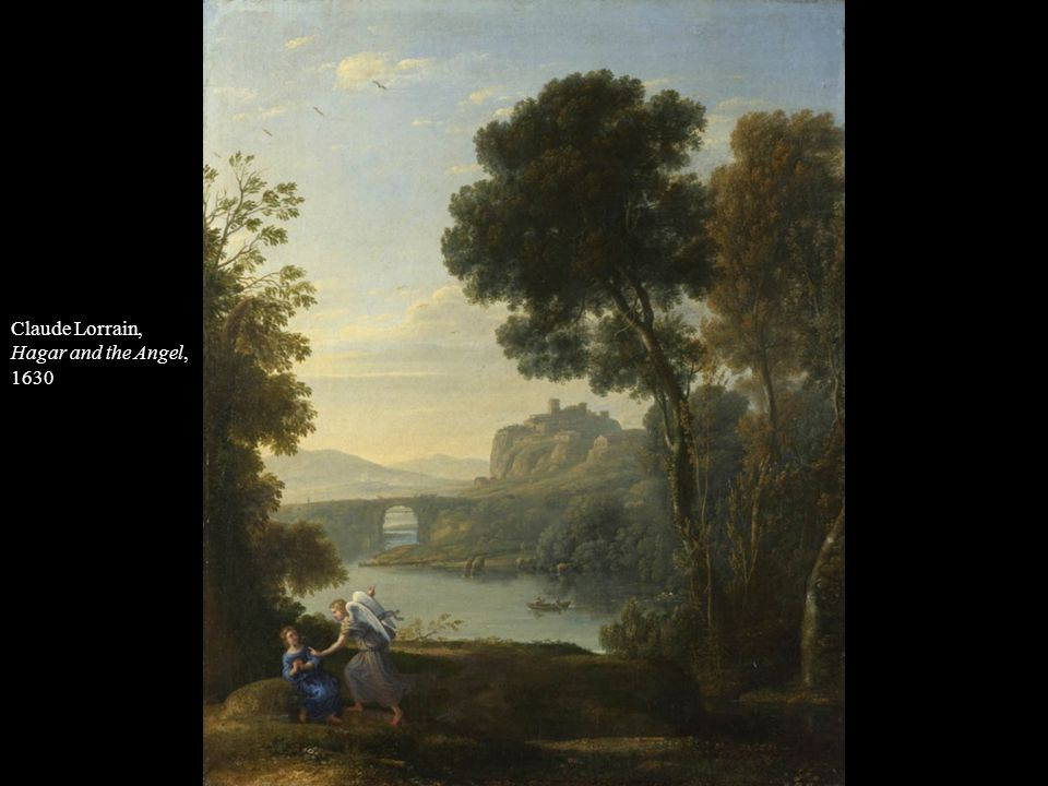 Claude Lorrain, Hagar and the Angel, 1630