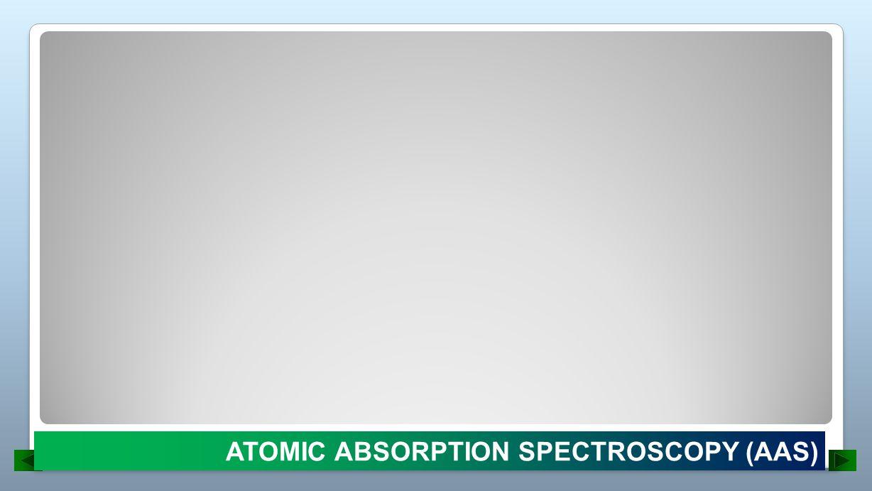 ATOMIC ABSORPTION SPECTROSCOPY (AAS)