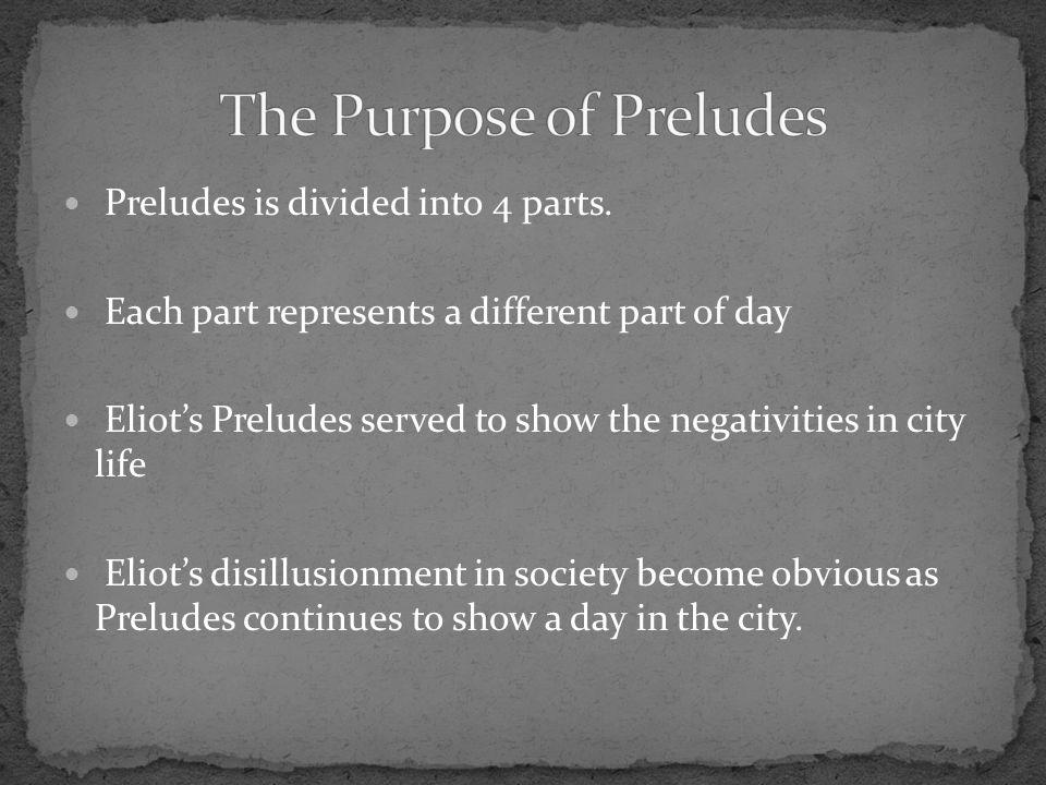 The Purpose of Preludes