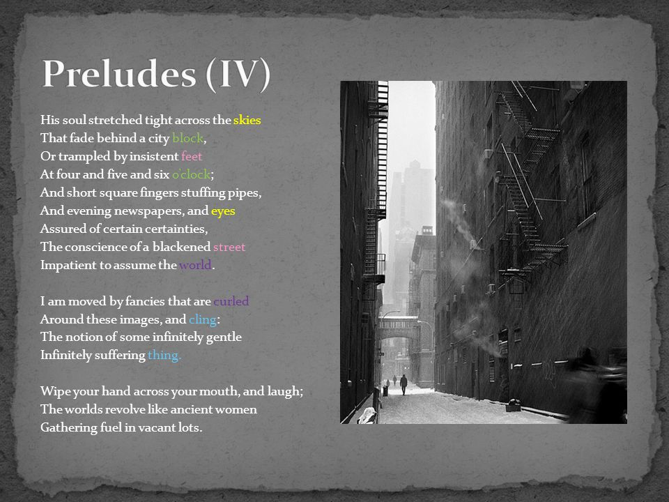 Preludes (IV)