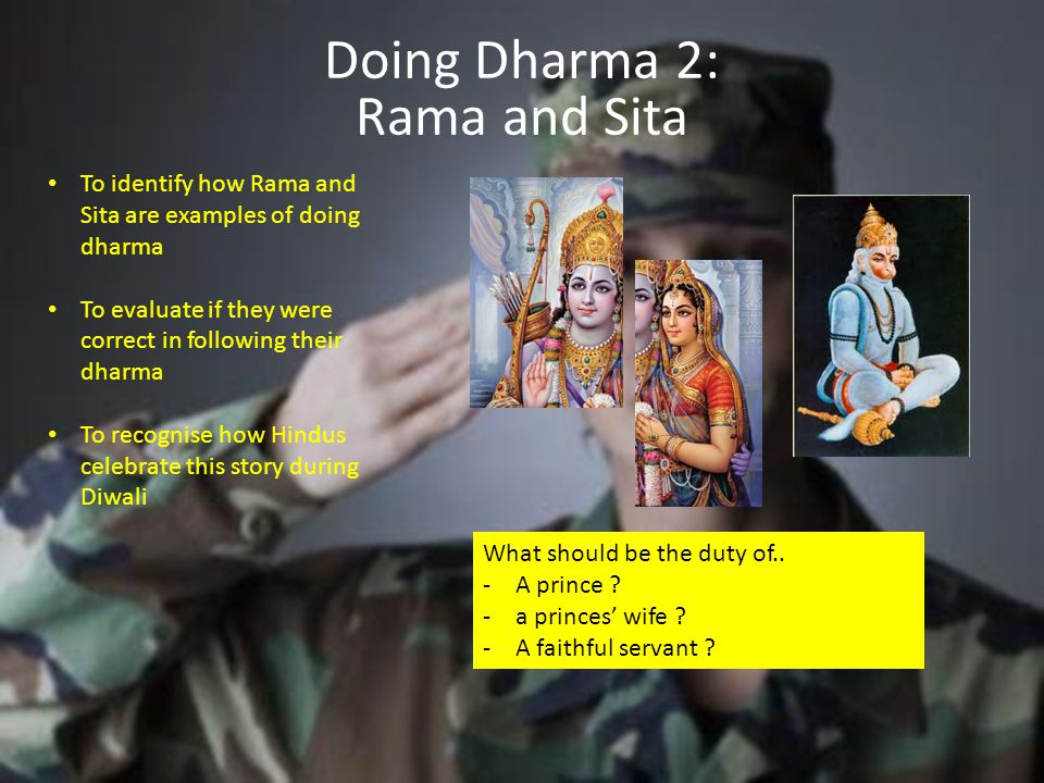 Doing Dharma 2: Rama and Sita