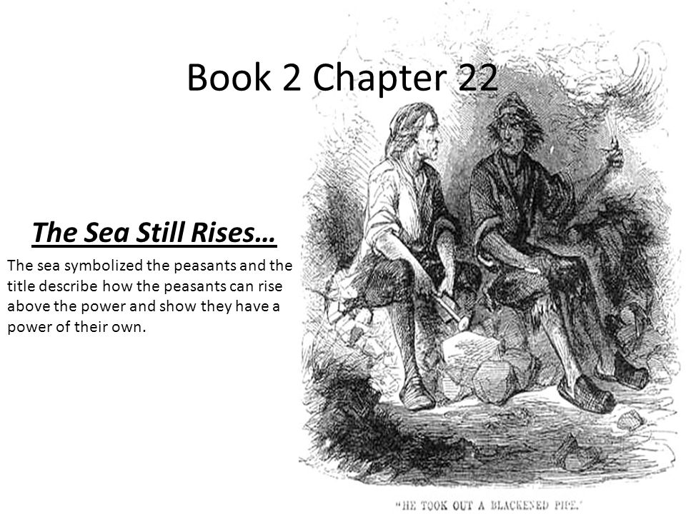Book 2 Chapter 22 The Sea Still Rises…