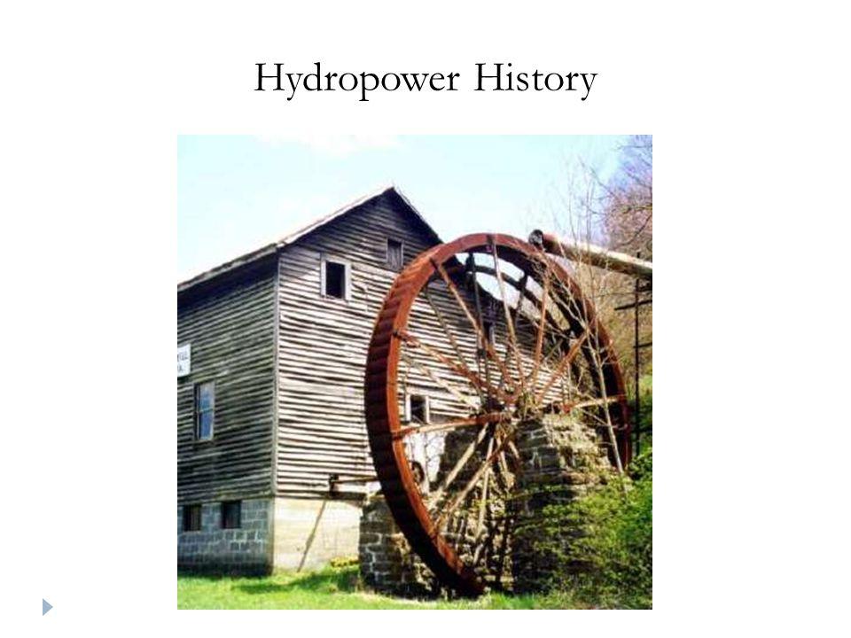 Hydropower History
