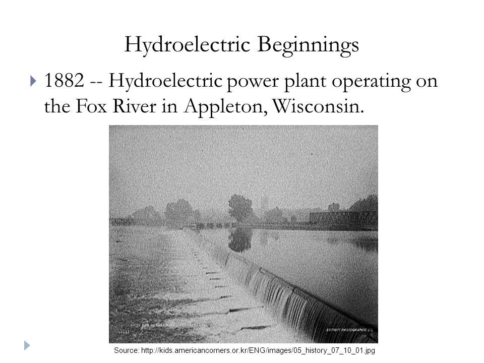 Hydroelectric Beginnings