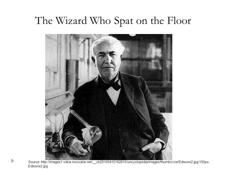The Wizard Who Spat on the Floor