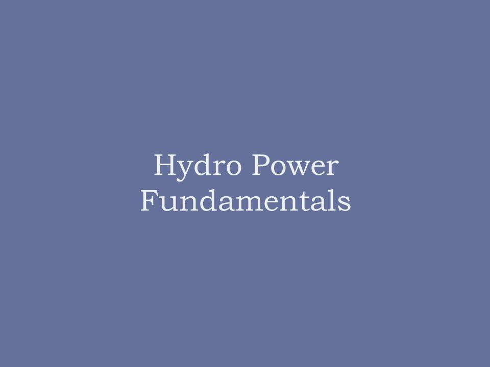 Hydro Power Fundamentals