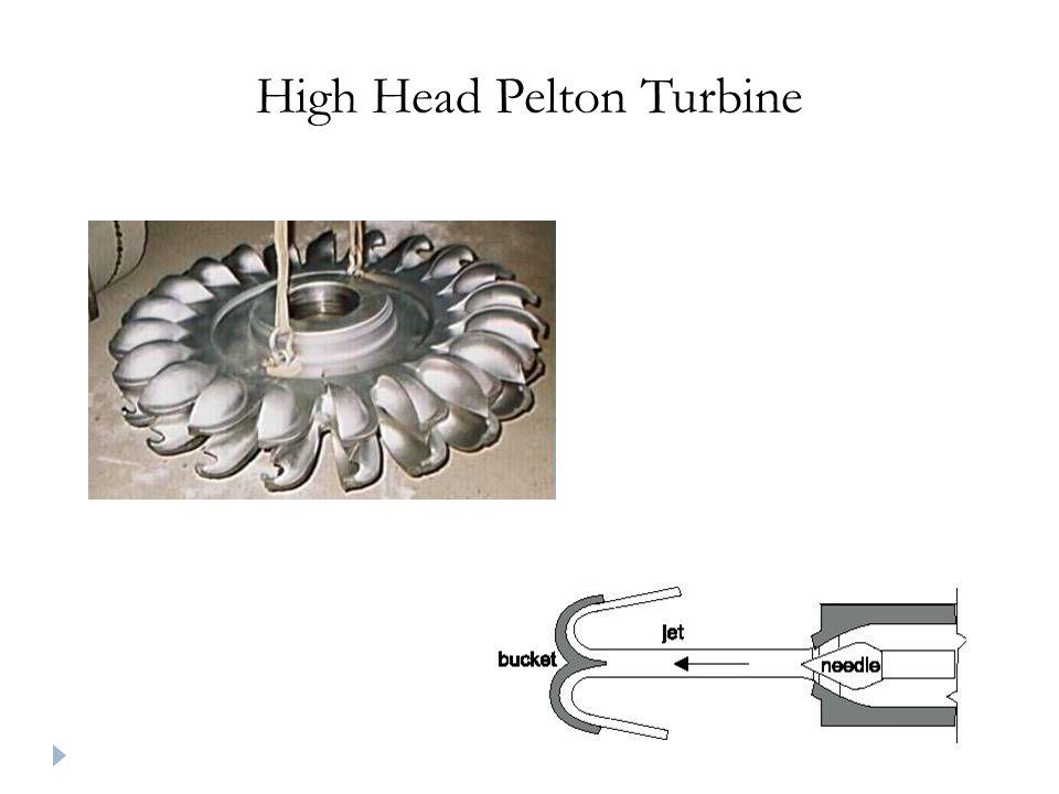 High Head Pelton Turbine