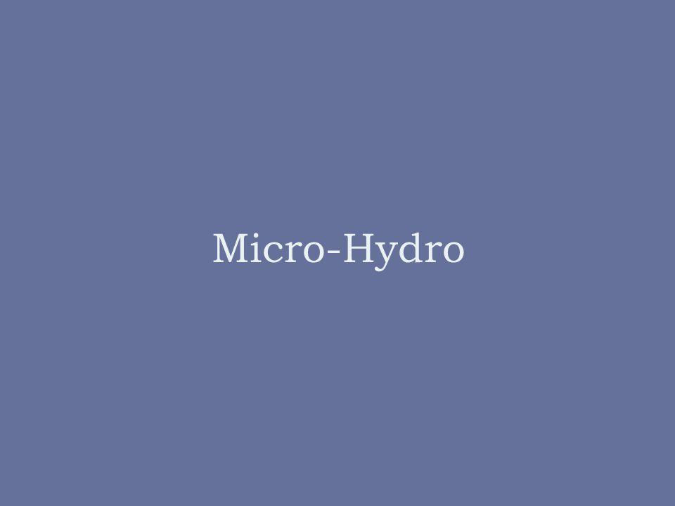 Micro-Hydro