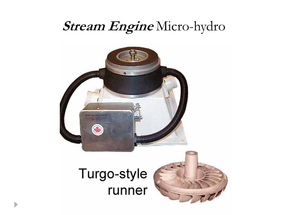 Stream Engine Micro-hydro