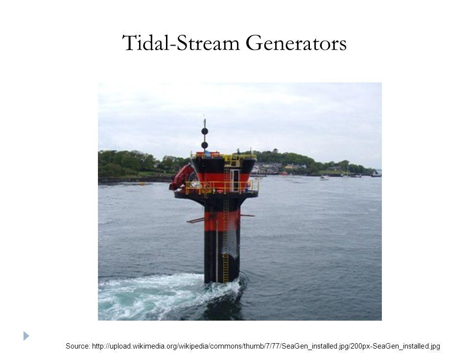 Tidal-Stream Generators