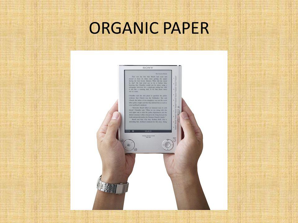 ORGANIC PAPER