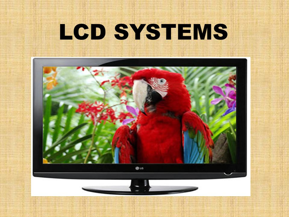 LCD SYSTEMS
