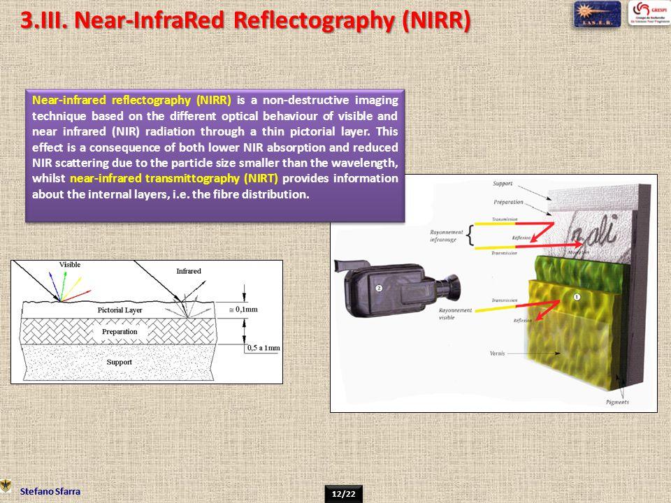 3.III. Near-InfraRed Reflectography (NIRR)