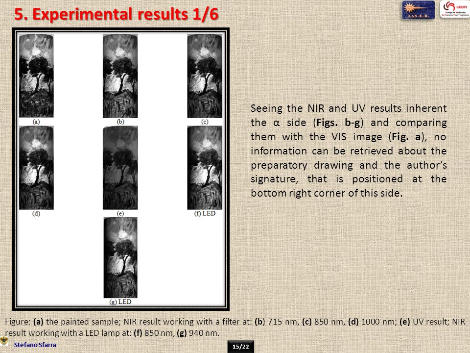 5. Experimental results 1/6