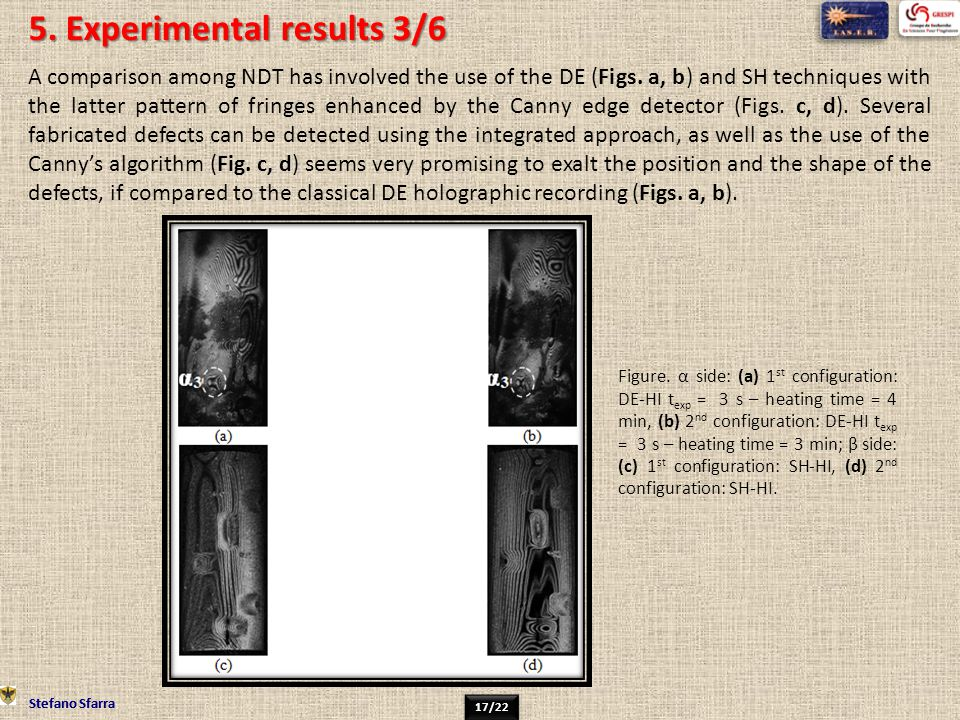 5. Experimental results 3/6