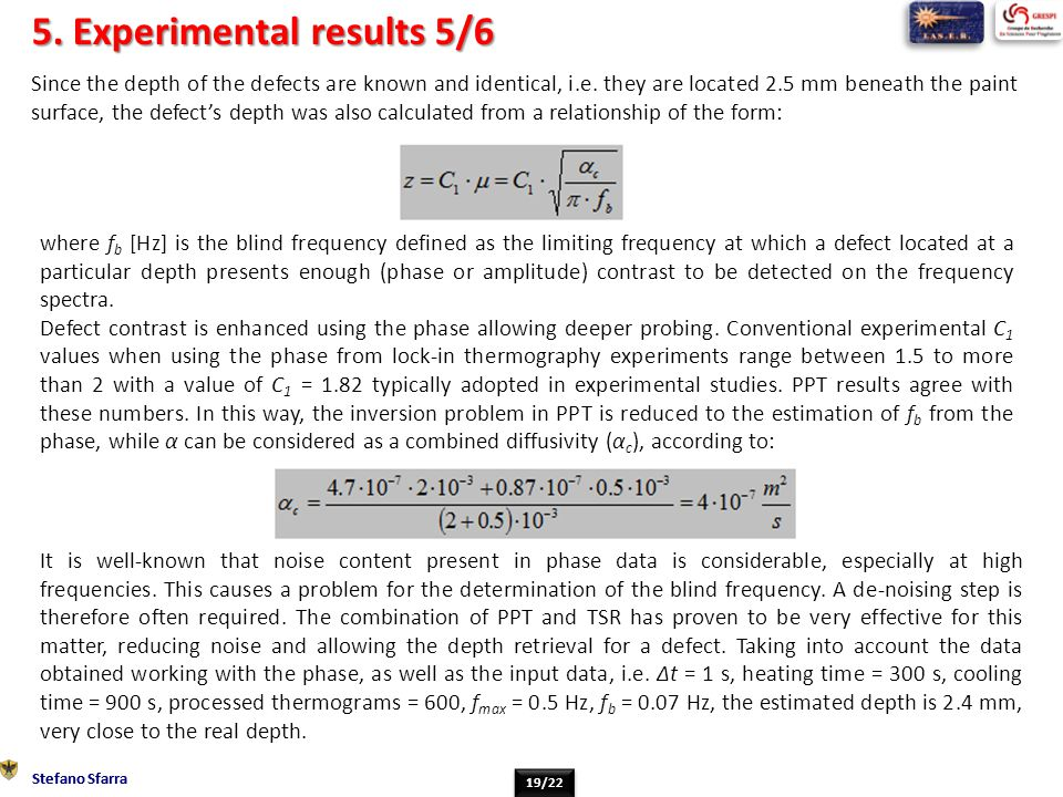 5. Experimental results 5/6