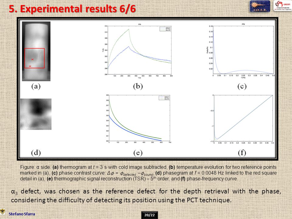 5. Experimental results 6/6