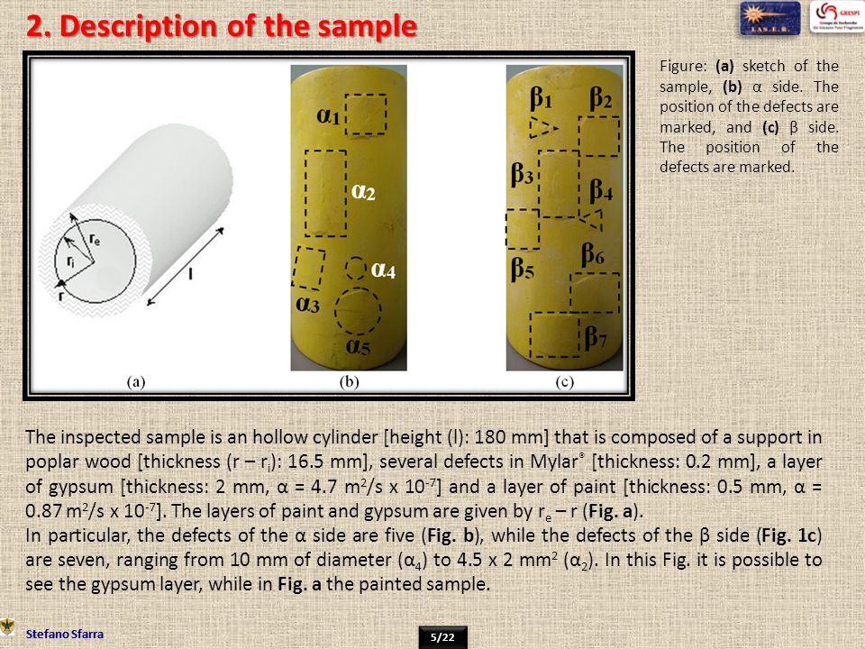 2. Description of the sample