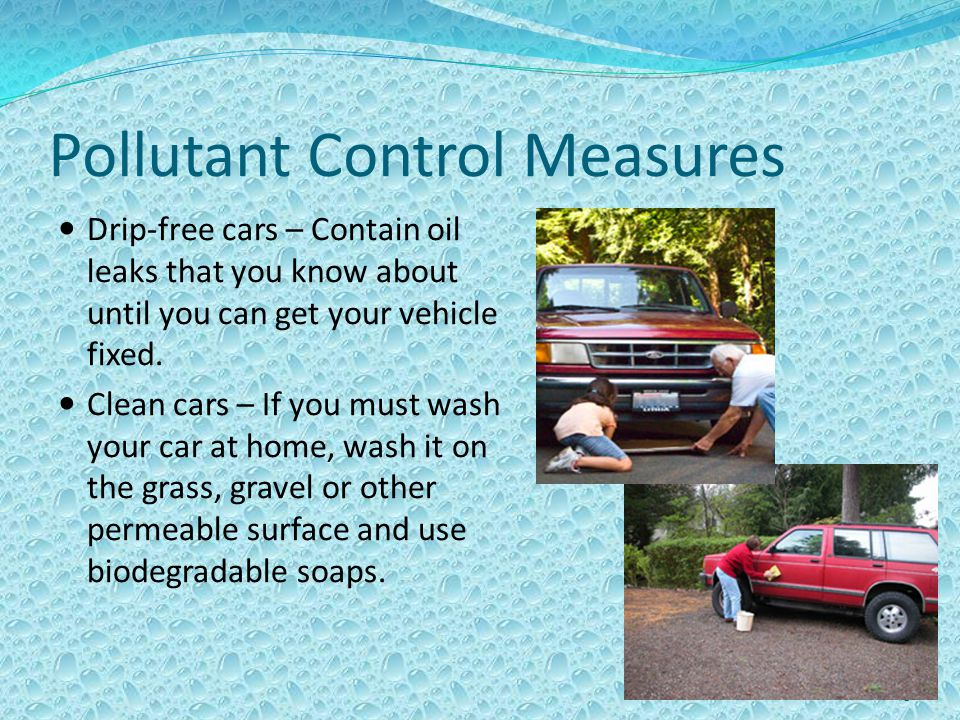 Pollutant Control Measures