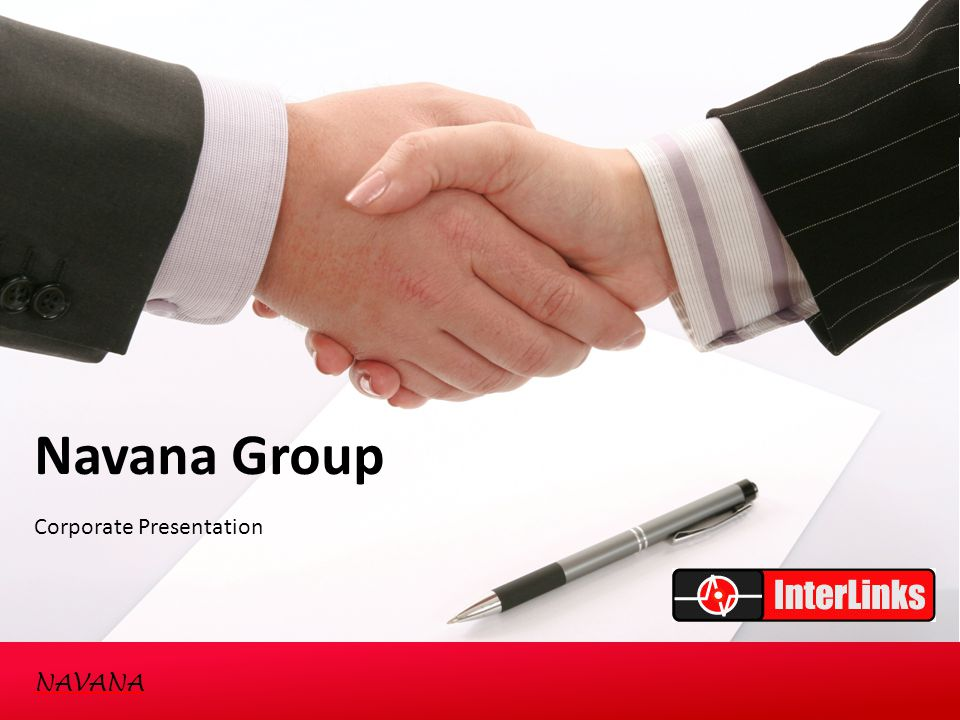 Navana Group Corporate Presentation NAVANA