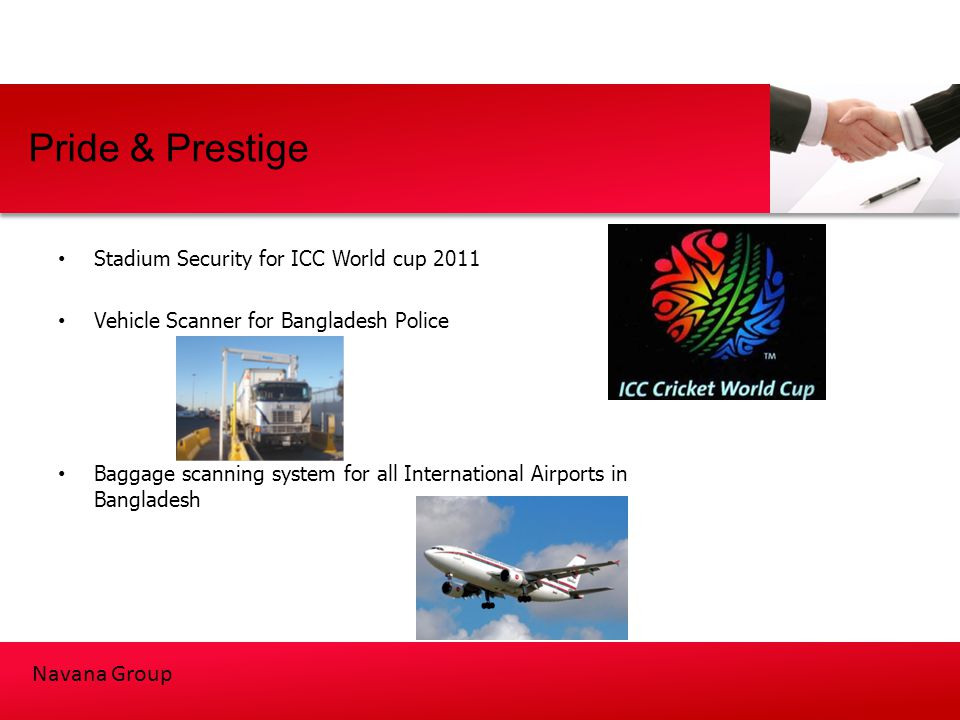 Pride & Prestige Stadium Security for ICC World cup 2011