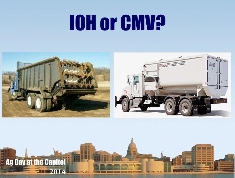 IOH or CMV