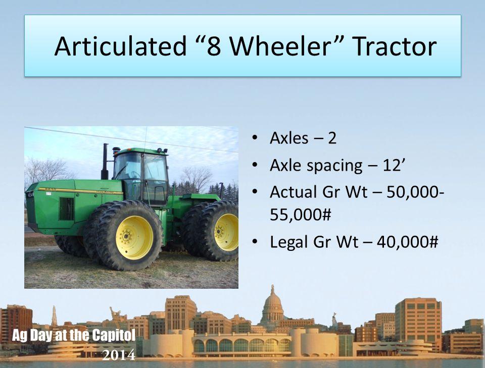 Articulated 8 Wheeler Tractor