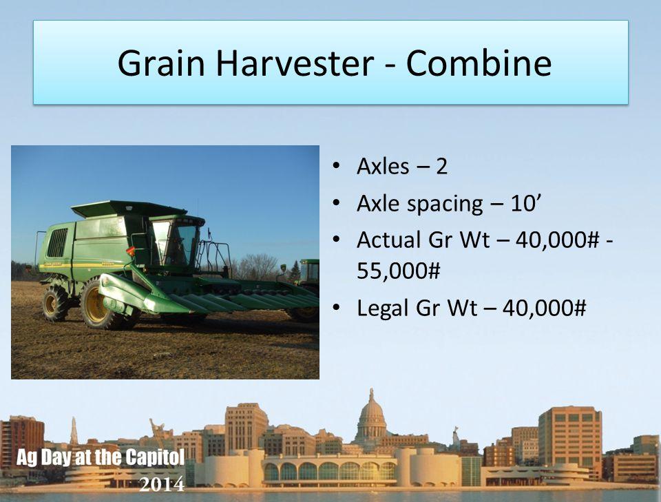 Grain Harvester - Combine