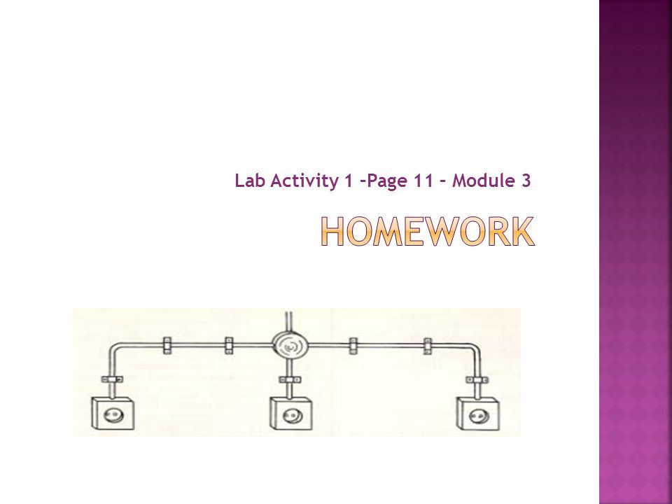 Lab Activity 1 –Page 11 – Module 3