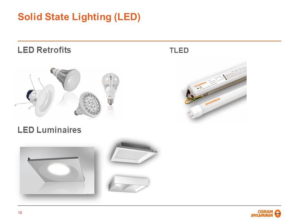 Solid State Lighting (LED)