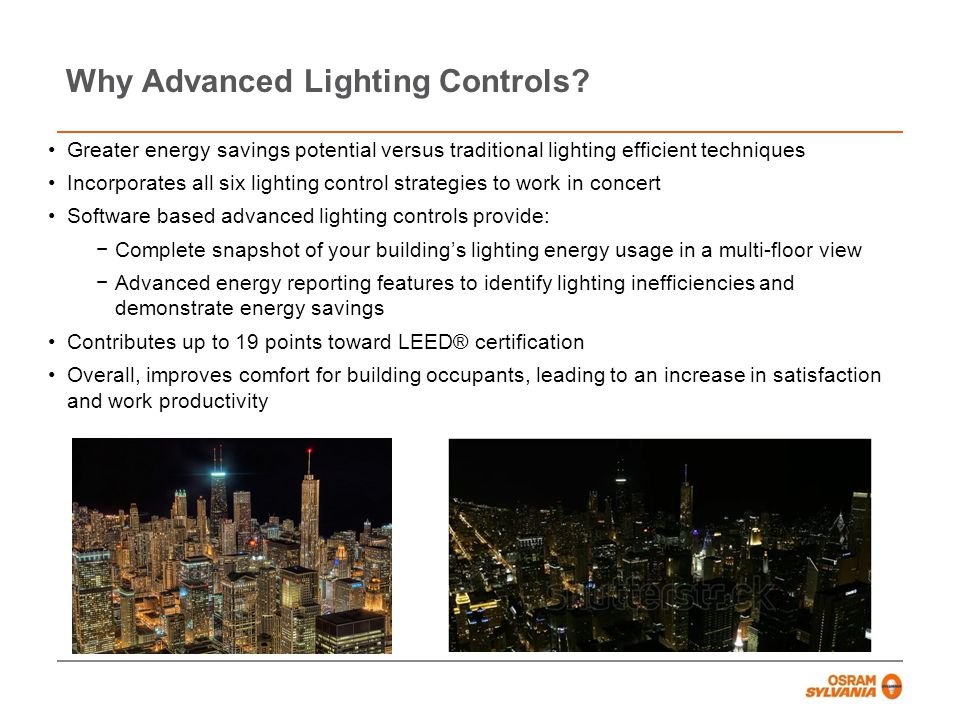 Why Advanced Lighting Controls Controls