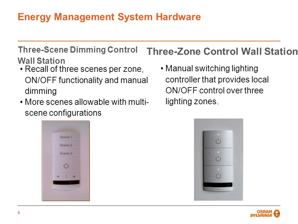Energy Management System Hardware