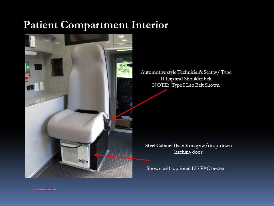 Patient Compartment Interior