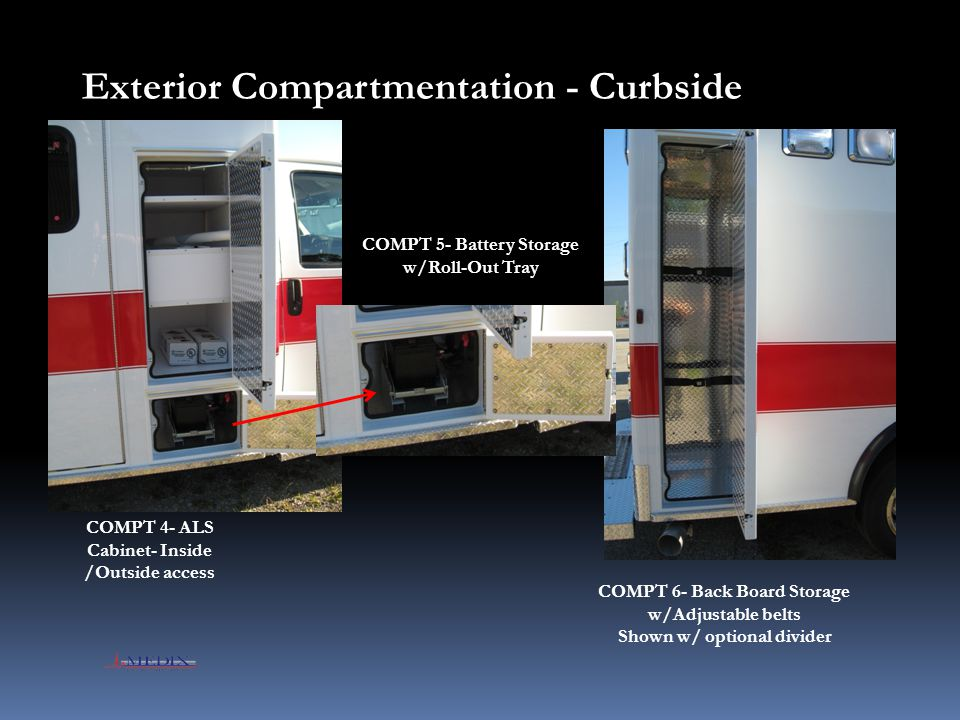 Exterior Compartmentation - Curbside