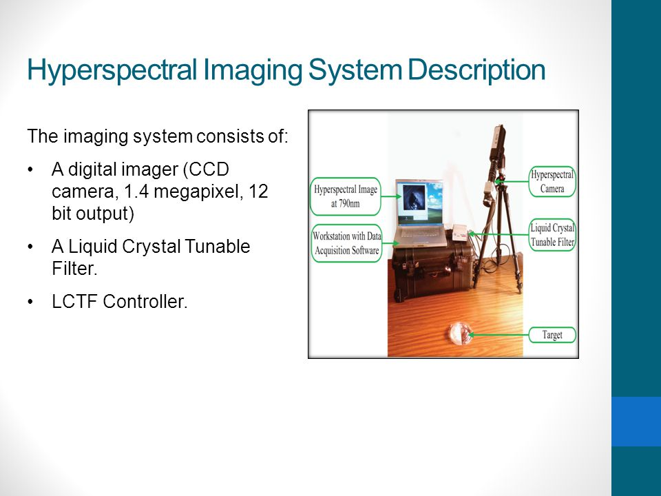 Hyperspectral Imaging System Description