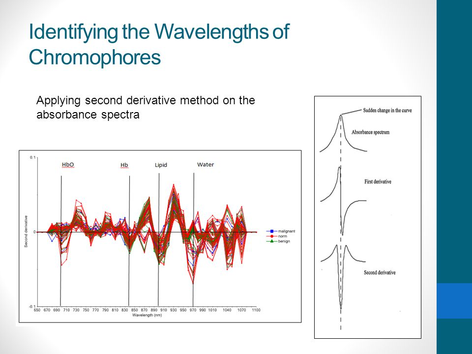 Identifying the Wavelengths of Chromophores
